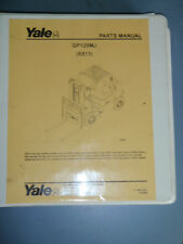 Yale Parts Manual GP120MJ [E813] _ 2006 Electric Forklift Lift Truck