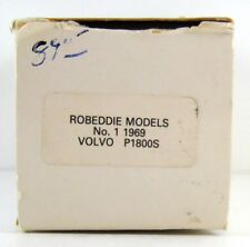 ROB EDDIE - BROOKLIN  #1X  1969 VOLVO P 1800 S 1:43 (BOX ONLY)