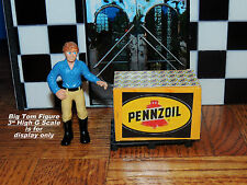 PENNZOIL OIL CASE LOAD WITH PALLET 1:24 G SCALE DIORAMA MINIATURE!