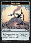 x4 Land Mine Token MTG Magic 2015 M/NM, English