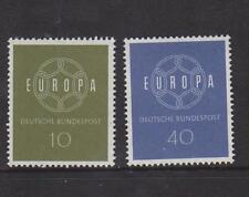 WEST GERMANY MNH STAMP DEUTSCHE BUNDESPOST 1959 SEPT EUROPA SET SG 1234/5