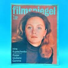 DDR Filmspiegel 1/1985 Giuliano Gemma Florin Piersic Steven Spielberg R. Hoppe E