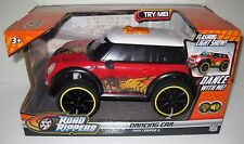 New In Box ROAD RIPPERS Dancing Car MINI COOPER S Lights & Sounds-FREE S/H!