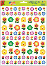 A4 Sticker Sheet Cute Flower Faces - Scrapbooking & Cardmaking Over 50 Images