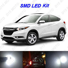 10 x Ultra White SMD LED interior Lights Kit for 2015-2016 Honda HRV CRV