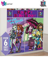 MONSTER HIGH PARTY SUPPLIES GIANT 5 PC SCENE SETTER DECORATING KIT