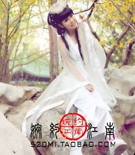 Womens Chinese Ancient Gorgeous Fairy Princess Cosplay Tang Costume Long Dress