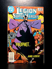 COMICS: DC: Legion of Super-Heroes #309 (1980s), 1st Omen app - (flash/batman)