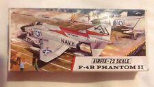 Vintage Airfix F-4B Phantom II 72 Scale Model Kit Series 3 Pat No:388 On Sprues