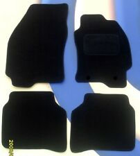 FORD FOCUS ST 2 & ST 3 04 - 11  FULLY TAILORED BLACK CAR MATS + FIXING CLIPS