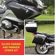 SILVER FAIRING AND PANNIER STRIPE KIT FOR BMW R1200RT OHC & DOHC GRAPHICS