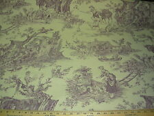 "~24 1/8 YDS~STROHEIM&ROMANN ""COUNTRY FABLE VICTORIAN""UPHOLSTERY FABRIC FOR LESS~"