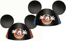 DISNEY MICKEY MOUSE PARTY HATS-8 PACK-NEW IN PACKAGE