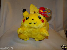 "NEW WITH TAGS POKEMON PIKACHU PLUSH 8"" BACKPACK"