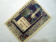 EVER MIND THE RULE OF THREE Parchment poster wicca pagan book of shadows BOS