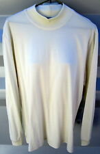 BLACK PEPPER SZ 16 CREAM LONG SLEEVE HIGH NECK TOP/T SHIRT EXCELLENT CONDITION