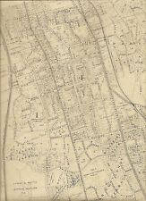 Yonkers Westchester NY 1911 Maps Homeowners Names Shown