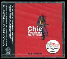 Nile Rodgers - Chic Freak & More Treats JAPAN CD OBI NEW 1996 VACM-1021
