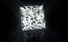 1.96ct Princess-Cut Swarovski Loose Diamond VVS1 7.00mm Single Loose Diamond