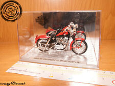 HARLEY-DAVIDSON XL 883 SPORTSTER 1957 1/24 BLACK/RED