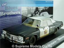 Blues Brothers coche modelo Bluesmobile Dodge Monaco 1974 1:43 Greenlight t3412z