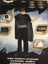 Batman Accessory Kit Dark Knight Superhero Fancy Dress Halloween Child Costume