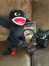 How To Train Your Dragon 2 Toothless Bundle Plush Bank Headphone & Silly Bands