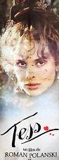 Affiche 60x160cm TESS (1979) Roman Polanski - Nastassja Kinski, Peter Firth TBE