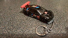 Diecast BMW M3 GT2 Black Toy Car Keyring Keychain
