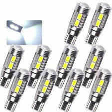 10x T10 501 194 W5W 5630 LED 10 SMD CANBUS ERROR FREE Car Side Wedge Light Lamp
