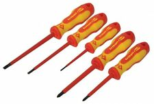 CK TRITON XLS T4728 Insulated 5 Pce 1000v VDE Slotted/PH Screwdriver Set