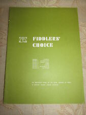 Original Sheet Music Of Fiddlers' Choice, By Thomas F. Dunhill