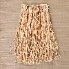 (2) HAWAIIAN GRASS RAFFIA HULA SKIRTS CHILDRENS SIZE Kids Luau Party Costume