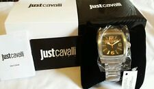 100% Authentic Just Cavalli PULP Steel Chronogragh Mens Watch BNWT R7253583001