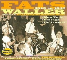 Complete Recorded Works, Vol. 6 [Box] by Fats Waller (CD, Apr-2009, 5 Discs,...