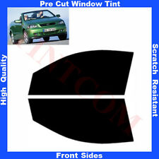 Pre Cut Window Tint Opel Astra G 2 Doors Cabrio 2000-2004 Front Sides Any Shade