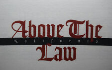 1995 Above The Law Kalifornia promo T-shirt vtg 90s hip hop eazy e nwa nos cd XL
