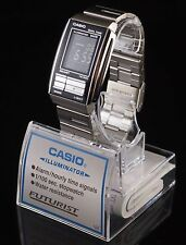 CASIO Watch FUTURIST Digital LA-201W-1 Black Watch 100% Original Brand New