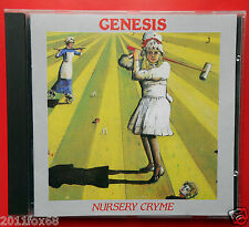 cd genesis nursery cryme rara stampa 1985 the musical box seven stones harlequin