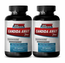Female Health - Candida Away 1275mg SS - May Help Fight Candida, Yeast Fungus 2B