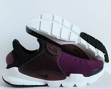 NIKE SOCK DART TECH FLEECE MULBERRY-NIGHT MAROON-BLACK SZ 8 [834669-501]