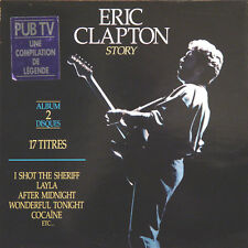 ERIC CLAPTON Story FR Press Polydor 843 266 1990 2 LP