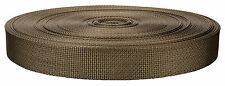 1 Inch Marpate Coyote Tan Lite Weight Nylon Webbing Closeout, 10 Yards