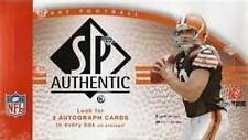 2007 Upper Deck UD SP Authentic Football Factory Sealed Hobby Box -Peterson Auto