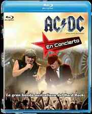 AC/DC AC DC live at Circus Krone Mexican exclusive brand new ALL region BLU RAY