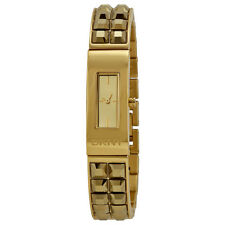 DKNY Beekman Champagne Dial Gold-tone Ladies Watch NY2228-AU