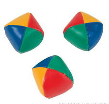 4 SETS OF 3 TOTAL 12 LEARN TO JUGGLE BALLS JUGGLING BALL WITH INSTRUCTION 2.25""