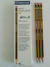 12 PACK STAEDTLER NORIS HB PENCILS SCHOOL STUDENT DRAWING ART DESIGN SKETCHING