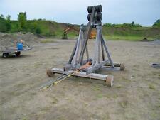 War Wolf No. 2 Trebuchet Catapult - Tosses 8# Pumpkin over 300 Feet