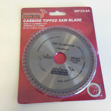 "5"" (125mm) - 22.2/16mm Bore Aluminium Cutting Saw Blade (Wood available)"